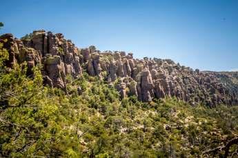 Chiricahua National Monument canyon view
