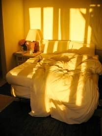 sun lit room Posada del Faro