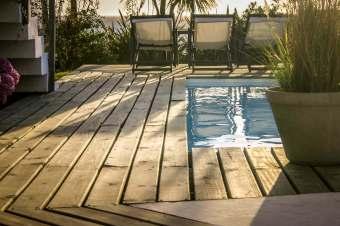 Posada del Faro pool detail