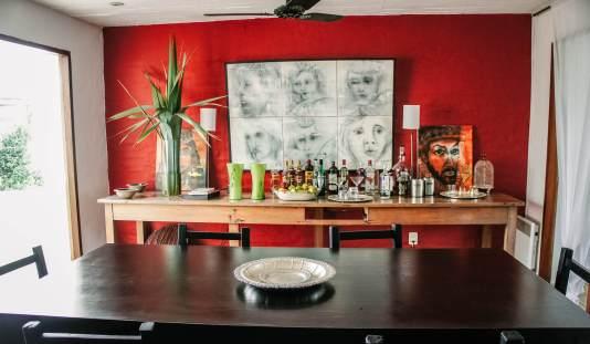 Posada del Faro breakfast room