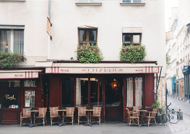 Chez Paul postcard