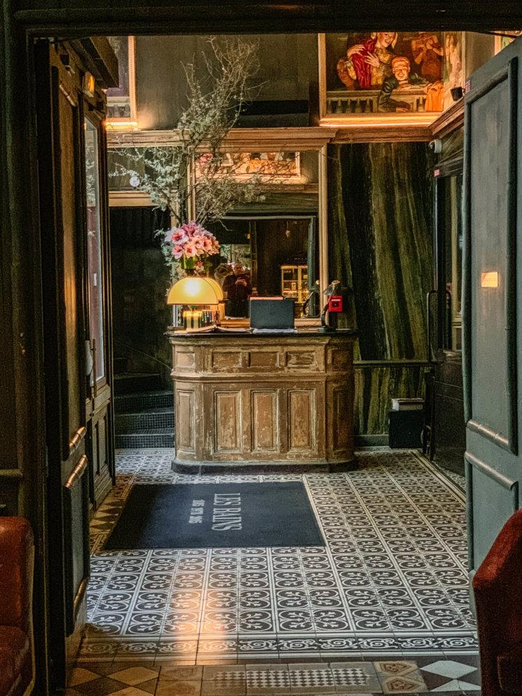 Les Bains Paris reception