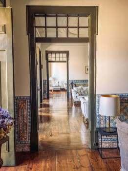 Palacio Ramalhete lobby doors