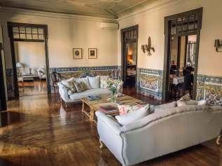 Palacio Ramalhete Lisbon lobby