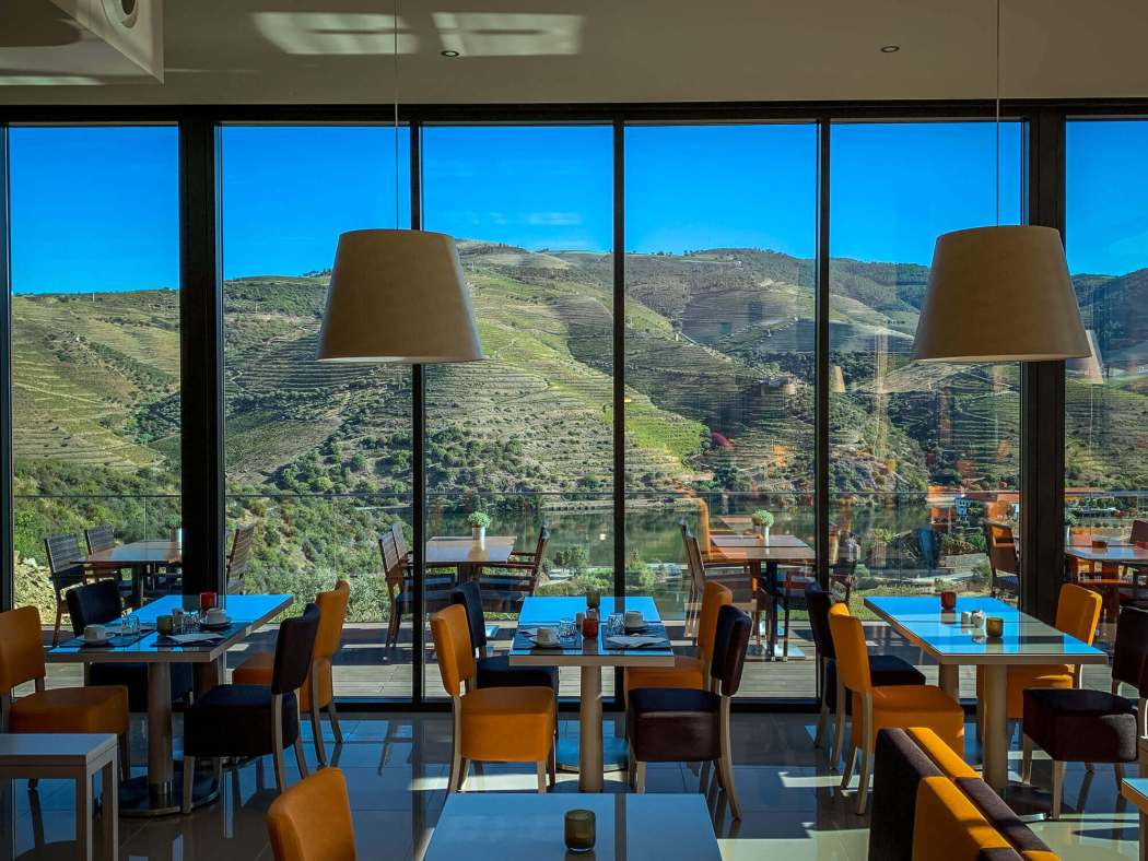 dining room view Vila Gale Douro