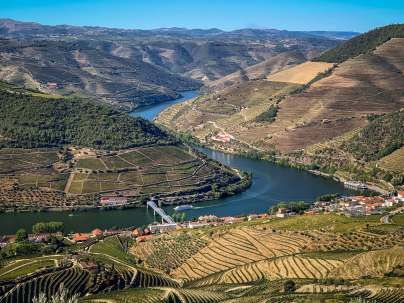 Views of the Douro River