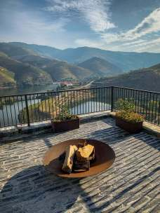 Vila Gale Douro deck view