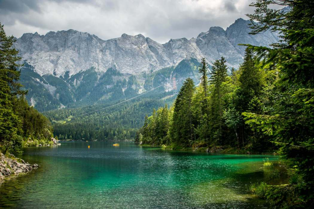 Eibsee lake Bavaria