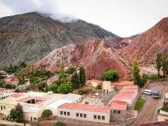 overlooking Purmamarca