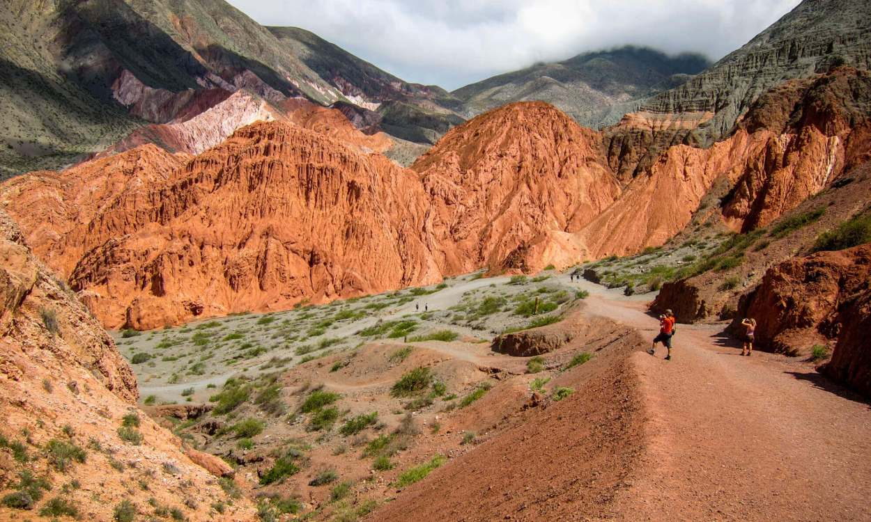 View of Camino de los Colorado