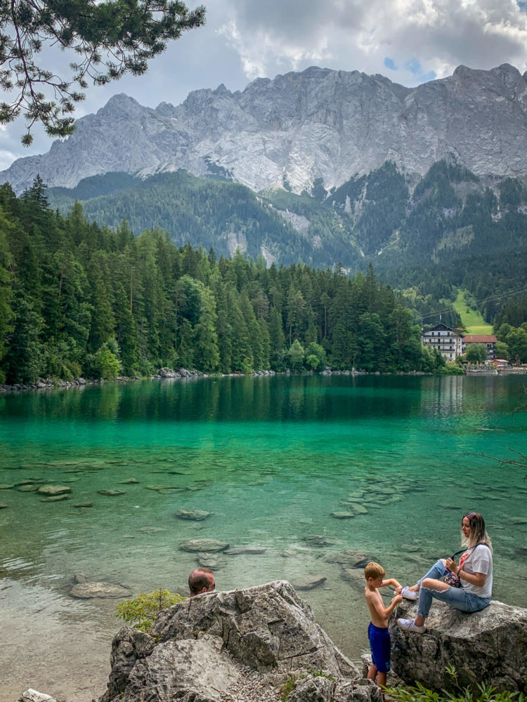 Eibsee lake view