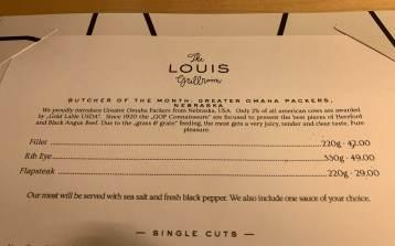 Louis Hotel Munich Nebraska steak