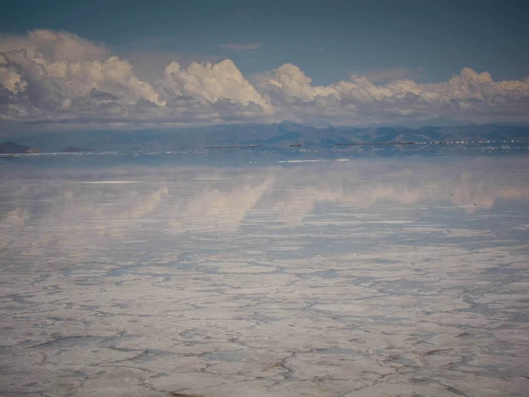 Mirror image of Salinas Grandes Argentina
