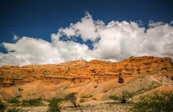 Canyon and clouds Ruta 40 Salta