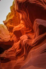 Antelope Canyon slot canyon