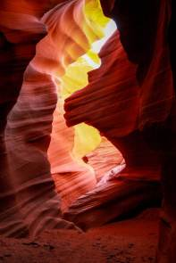 Antelope Canyon animal shapes