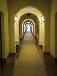 Patios de Cafayate hallway