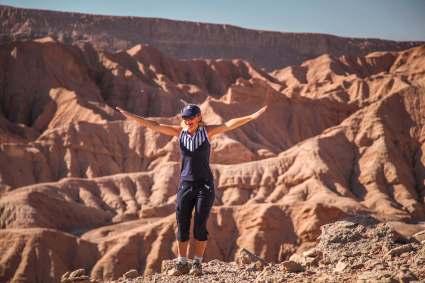 selfie Devil's Canyon Atacama