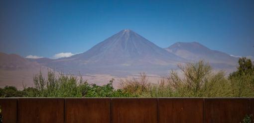 Licancanbur volcano from Tierra Atacama