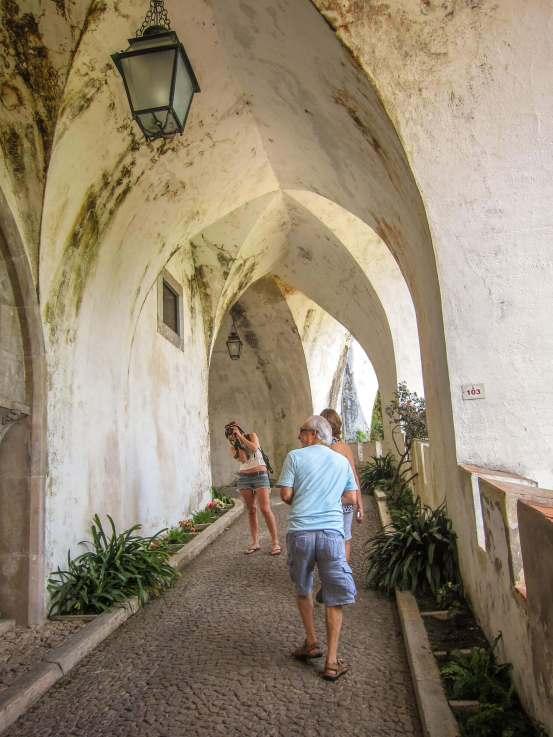 Pena Palace internal stairway