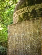 Pena Palace garden Moor details