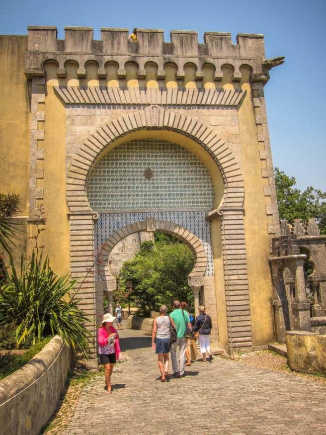 Sintra Palacio da Pena gate