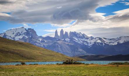View of The Towers Patagonia