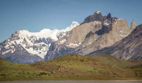 View of Los Cuernos
