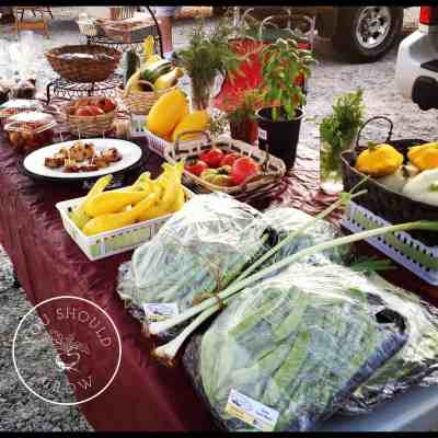 Five Vegetables For The Market Garden