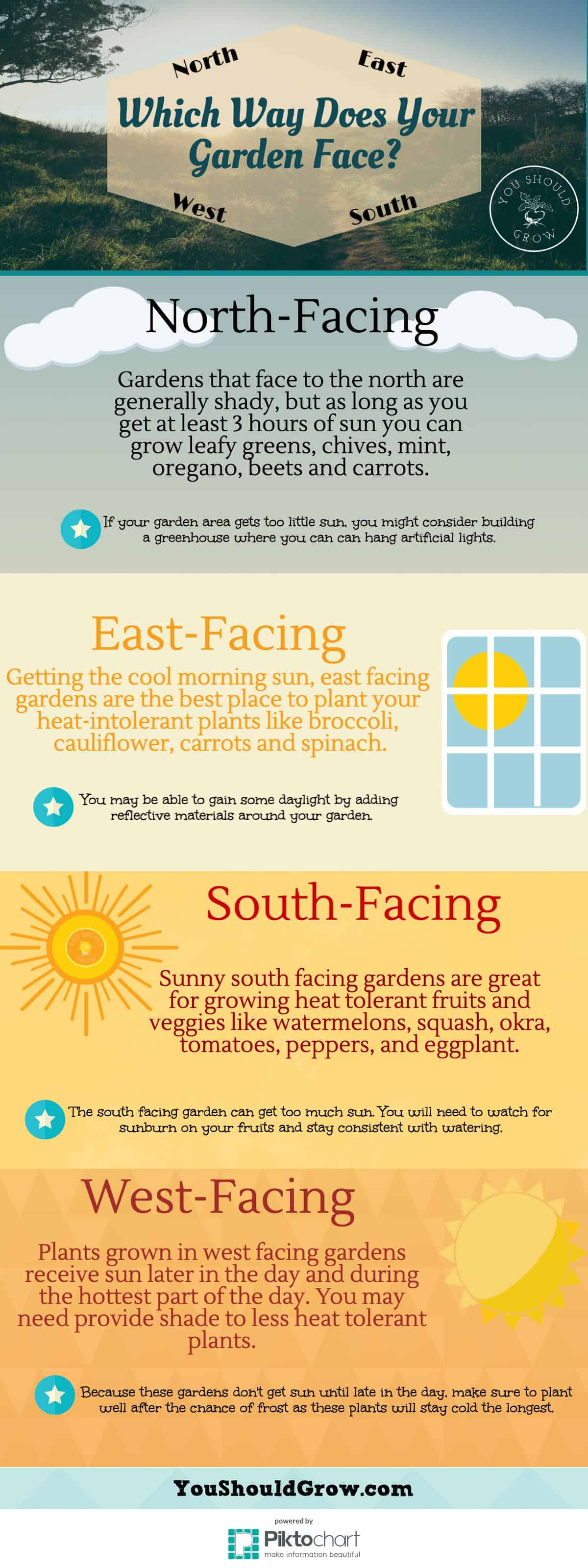 Plants for a north facing garden - Using Direction Is A Quick And Easy Way To Approximate Sun Exposure In Your Garden
