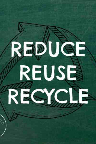Easy Ways To Reduce Reuse Recycle
