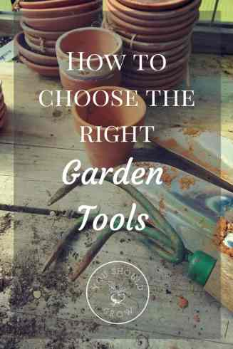 Choosing the right garden tools can make all the difference. Learn how to evaluate tools before you buy them.