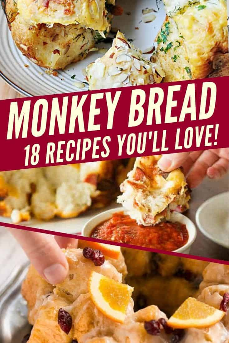 Monkey Bread | Savory Monkey Bread Recipes | Sweet Monkey Bread Recipes | Cinnamon Monkey Bread | Monkey Bread With Fruit Recipes | Christmas Monkey Bread | Gingerbread Monkey Bread | Pepperoni Monkey Bread | Garlic Monkey Bread | Gluten Free | Vegan | Dairy Free | Keto | Sugar Free | Healthy Monkey Bread | Cheesy Monkey Bread | Monkey Bread Appetizer | Monkey Bread Dessert | Monkey Bread Breakfast | Holiday Recipes |