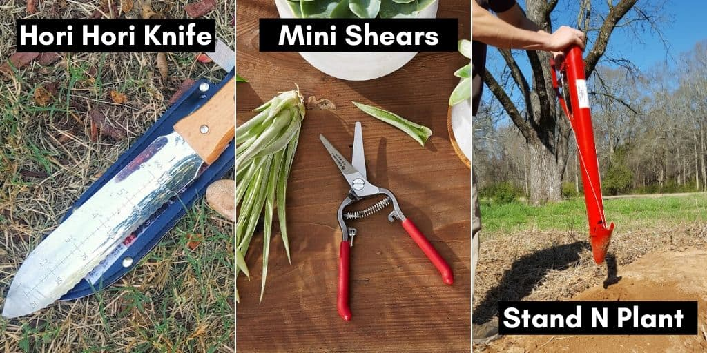 Examples of garden tools that make great gifts