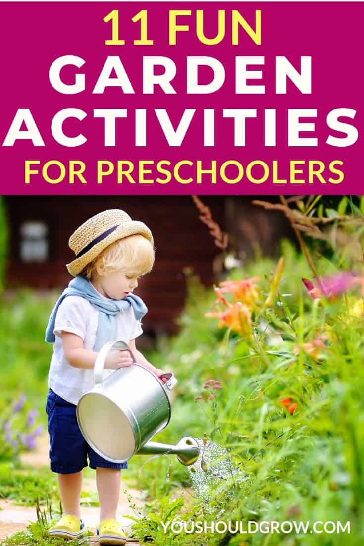 Want to teach your preschooler about gardening? Try one of these fun activities that are perfect for young children.