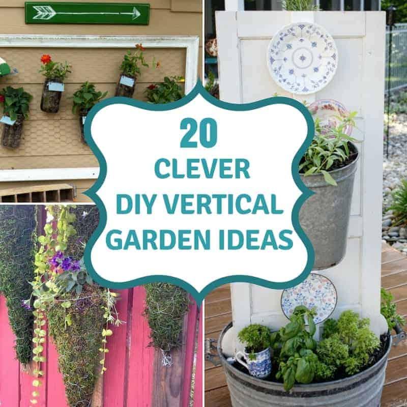 20 DIY Vertical Garden Ideas To Drastically