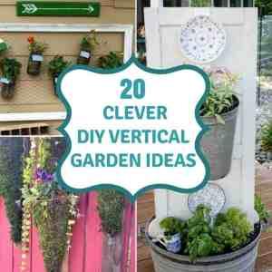 20 DIY Vertical Garden Ideas To Drastically Increase Your Growing Space