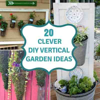 20 DIY Vertical Garden Ideas To Drastically Increase Your Growing Space