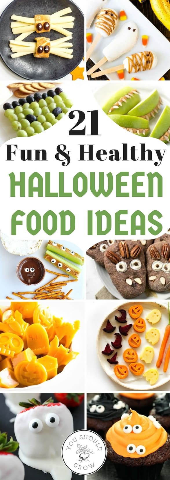 Searching for healthy Halloween food ideas? If you're like most moms, you're worried about all the sugary foods your kids get for Halloween. Feed your family only the best ingredients with these real food options for Halloween treats!