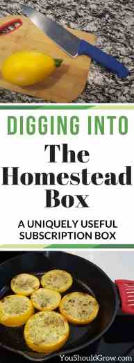 Check out this subscription box just for homesteaders. It's full of things you need!