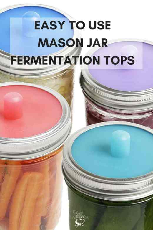 Gifts for someone who loves gardening_ Mason jar tops for fermenting.