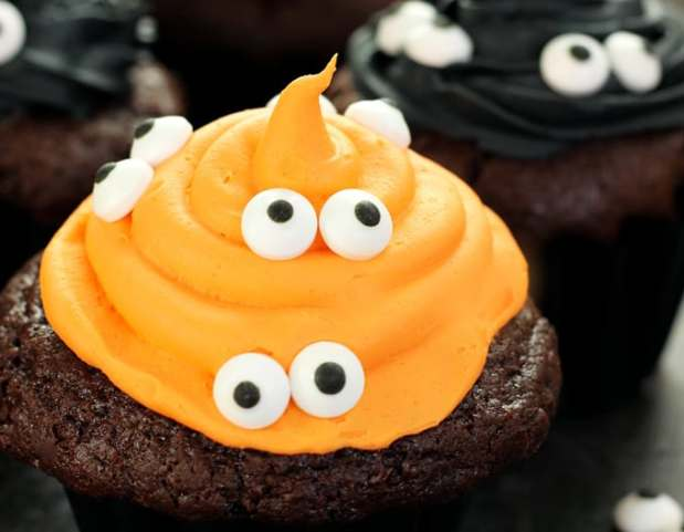 healthy halloween cupcakes recipe