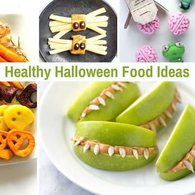 21 Of The Cutest Healthy Halloween Treats