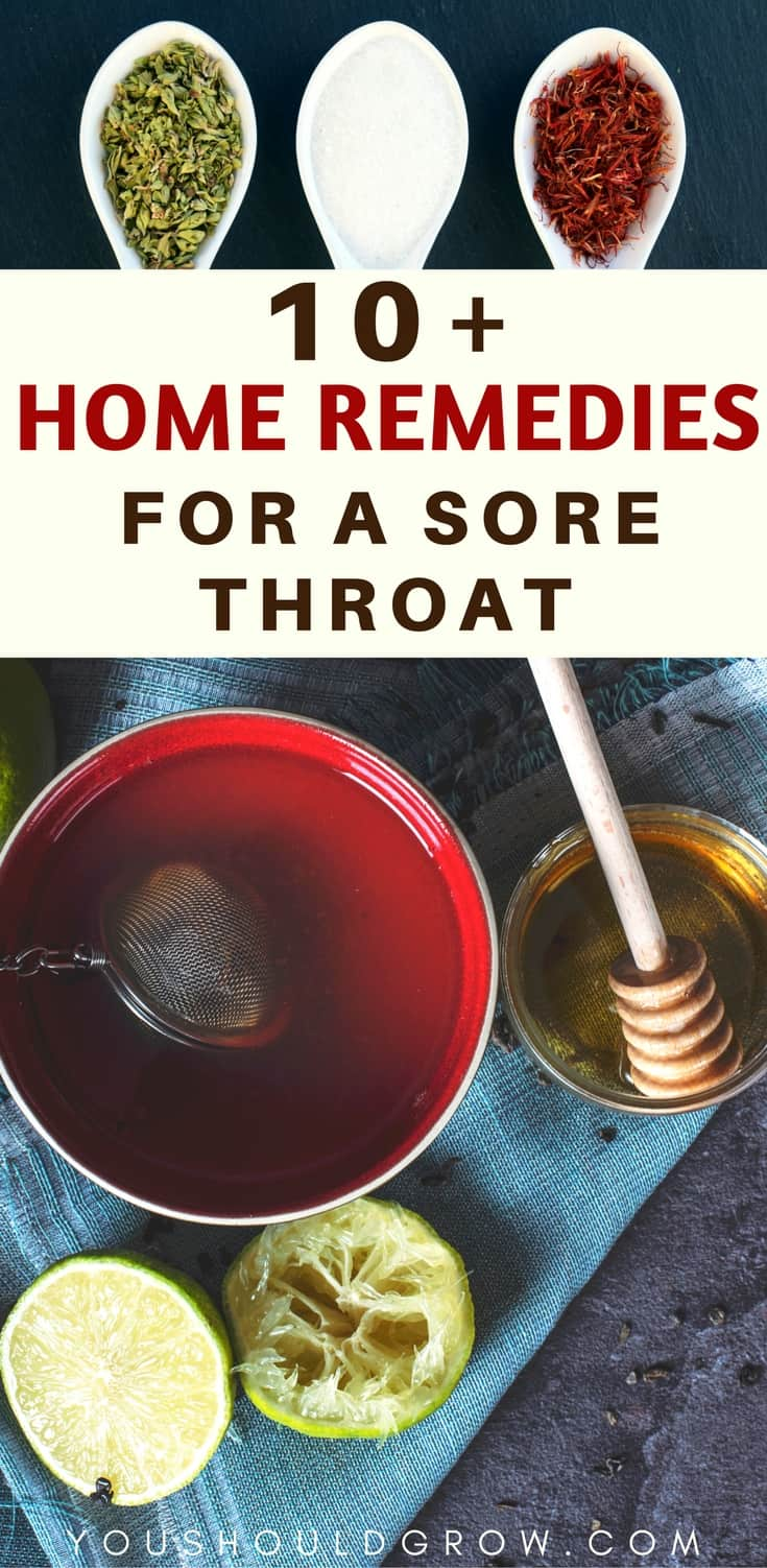 Home remedies: All-natural cures for a sore throat. Find out what you have at home that can relieve your pain. Check out these 11 surprisingly effective home remedies to make you feel better fast! Homesteading | Natural Medicine | Herbal Remedies