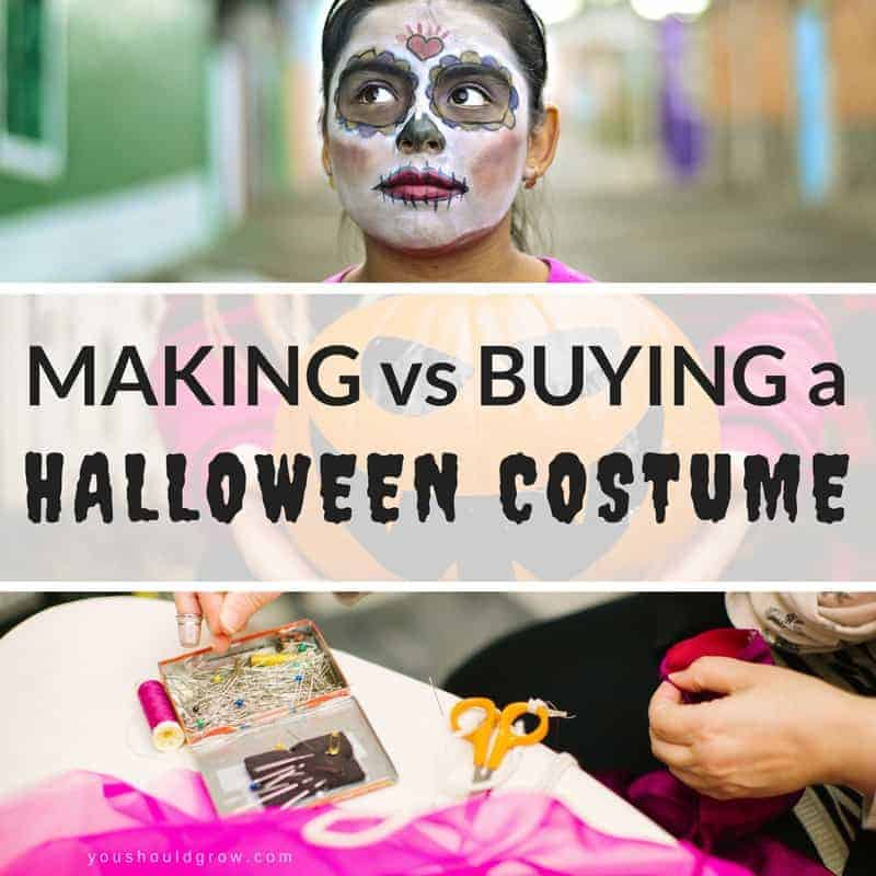 Should You Make Or Buy Your Halloween Costume?