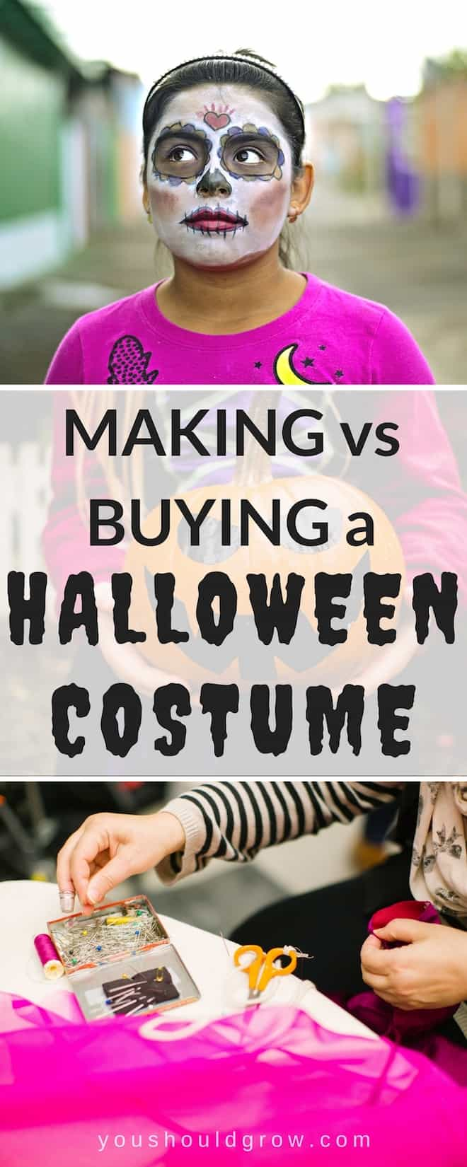 How do you decide whether to make or buy your Halloween costume this year? Get tips to help you make your decision.