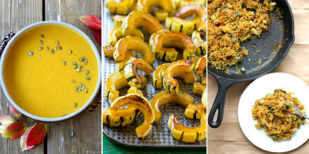Winter squash recipe round up