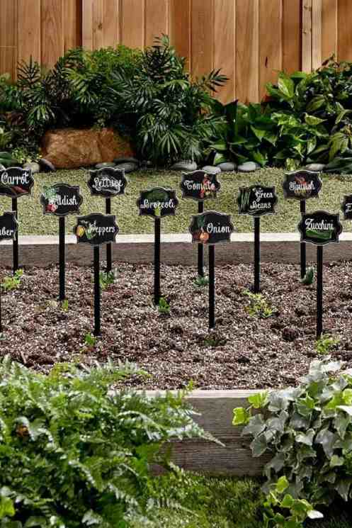 35 Garden Markers Ideas Images You Should Grow