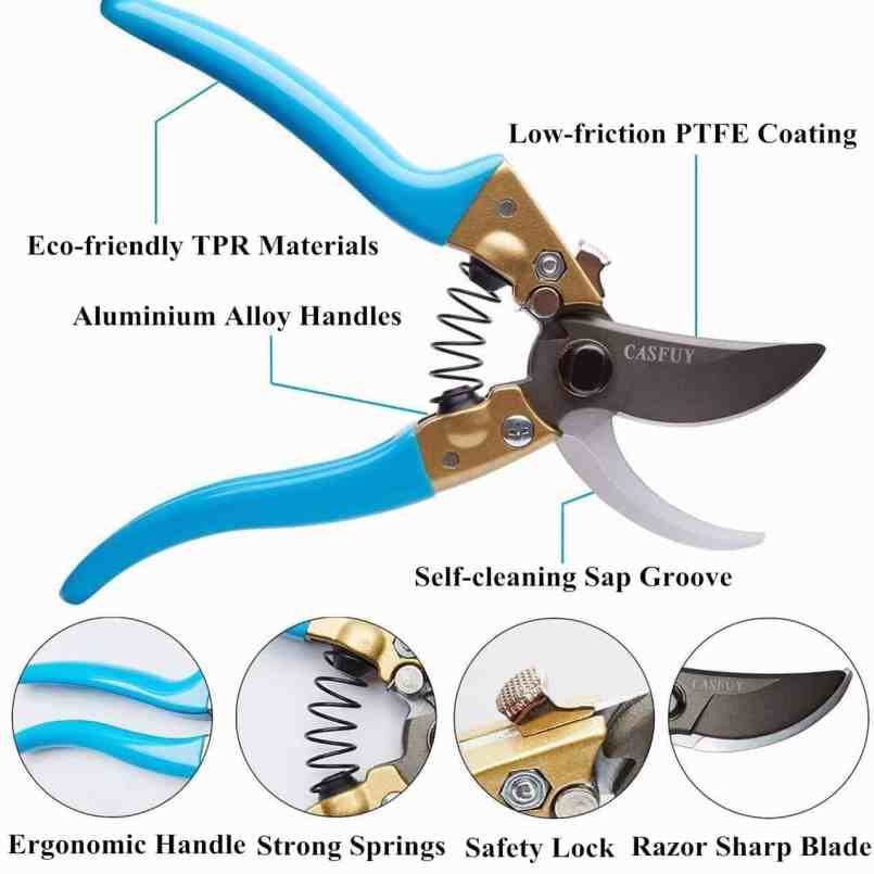 hand pruners gift for gardners.