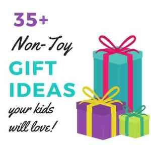 35+ Unique Non-Toy Gift Ideas For Kids